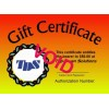 $10 TDS Gift Certificate